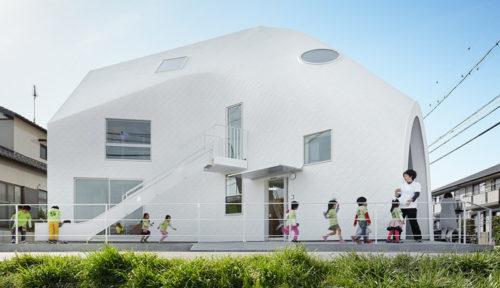 "Una scuola materna dalla forma organica ""Clover House"" by MAD Architects (Japan)"