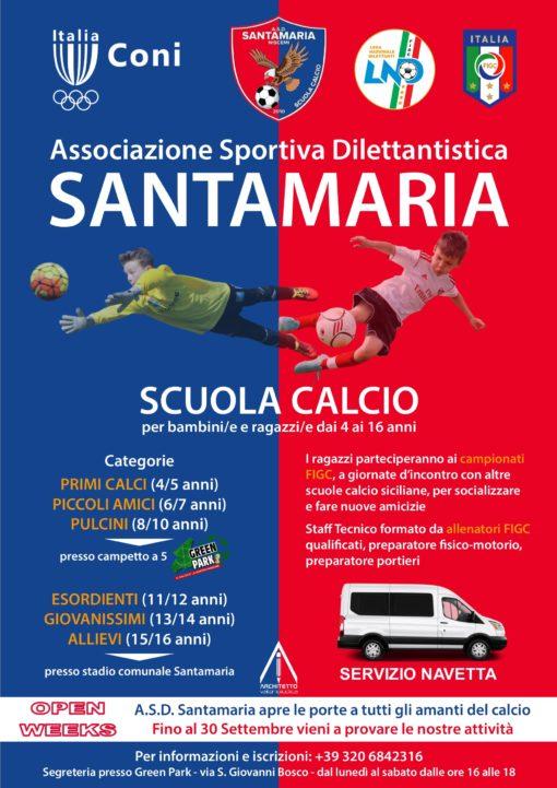 locandina Santamaria