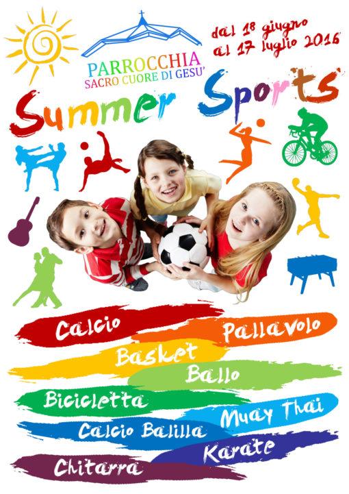 locandina summer sport