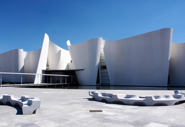 Il museo internazione del barocco in Messico