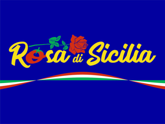 Logo packaging Rosa di Sicilia